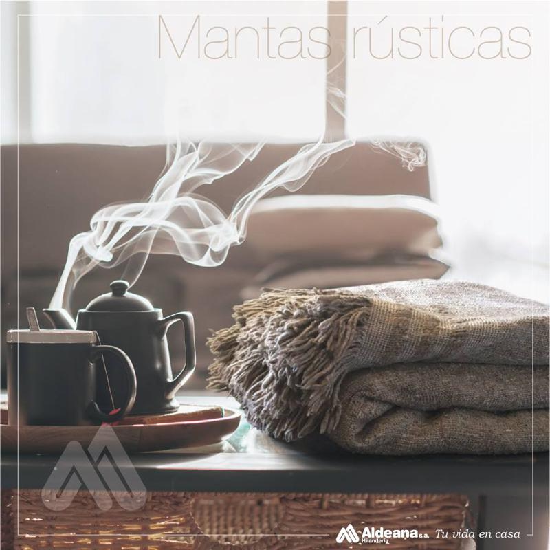 Manta Rústica Country - Hilandería Aldeana