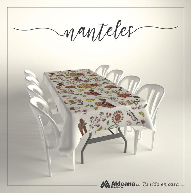 Manteles Country Hogar - Hilandería Aldeana