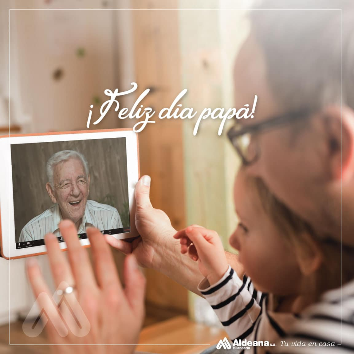 Feliz Día del Padre - Hilandería Aldeana