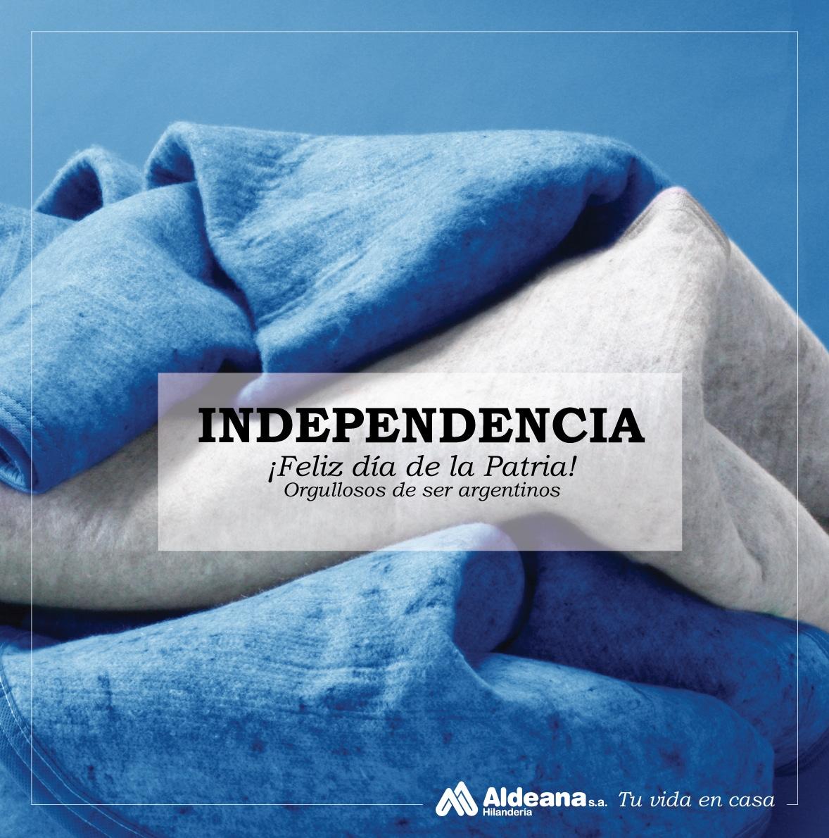 Feliz Día de la Independencia - Hilandería Aldeana