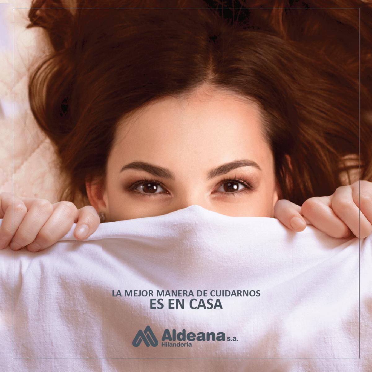 En casa - Aldeana