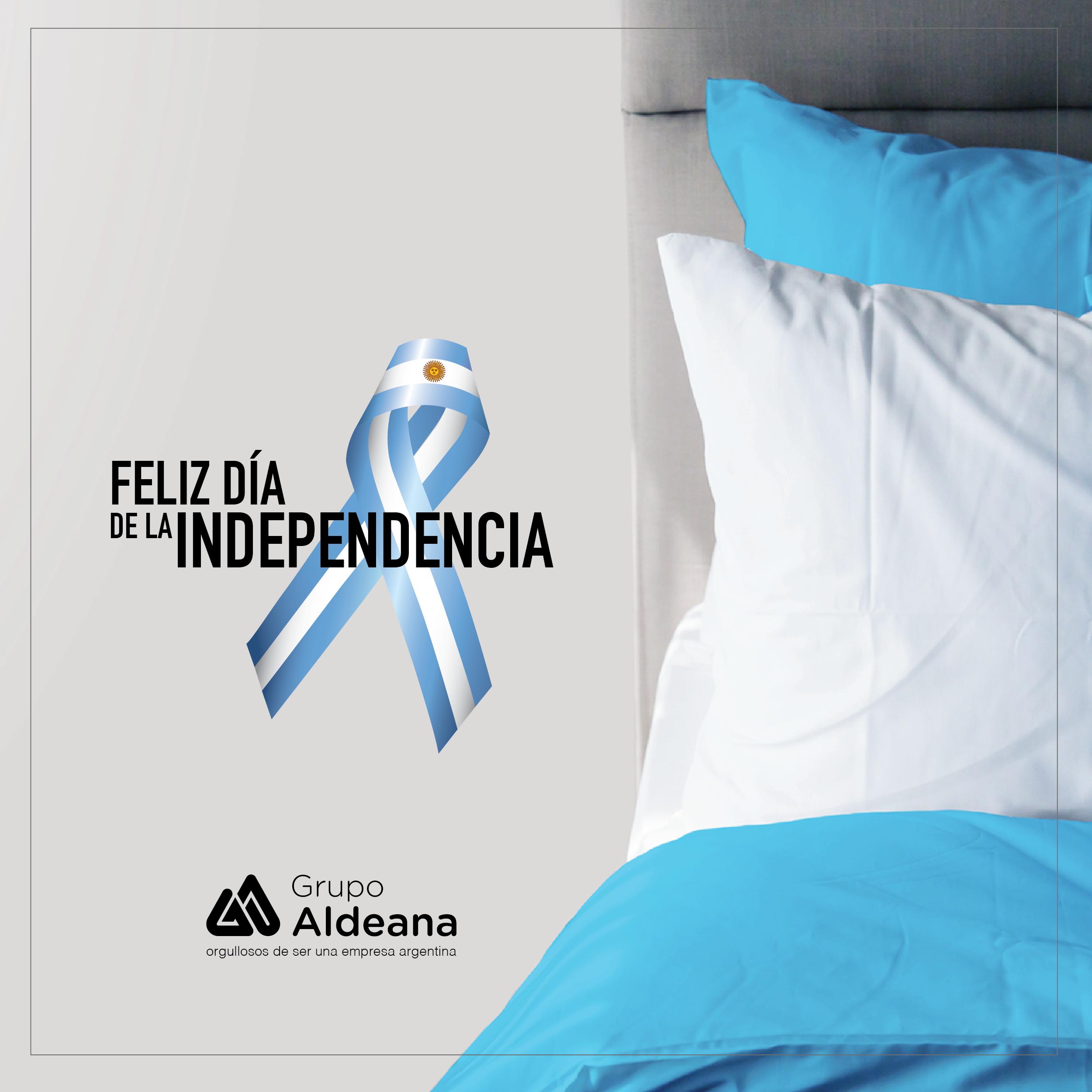 9 de Julio - Día de lndepedencia - Aldeana